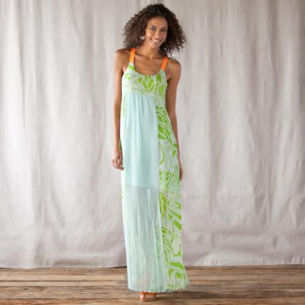 FERN GROTTO DRESS