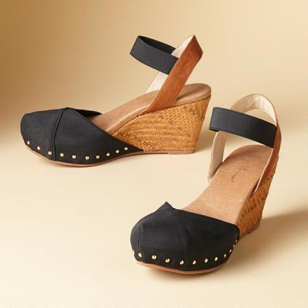 MARIGOT WEDGE SANDALS