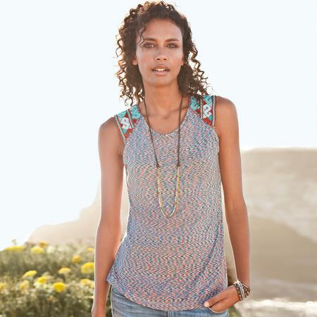 FREESTYLE BEADED TOP