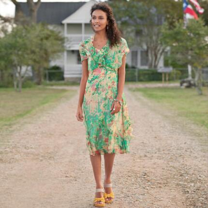 ELYSIAN GARDEN DRESS PETITES