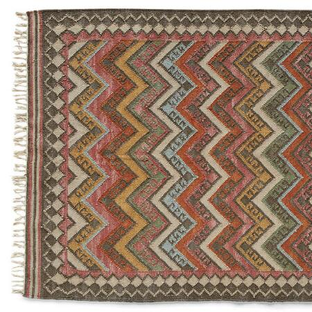 KILIM OF MANY COLORS RUG, LARGE