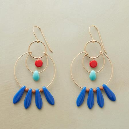 SPECTRUM HOOP EARRINGS