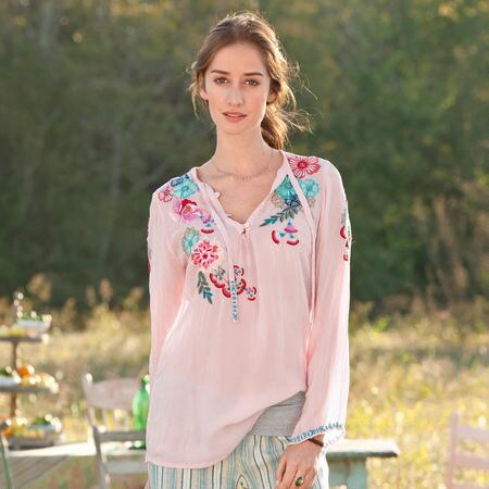 BLUSH & BLOOMS TUNIC