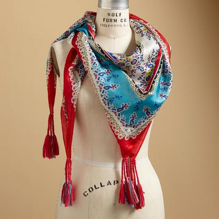 BLESSED THISTLE SCARF