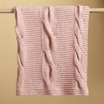KNIT & PEARL THROW BLANKETS