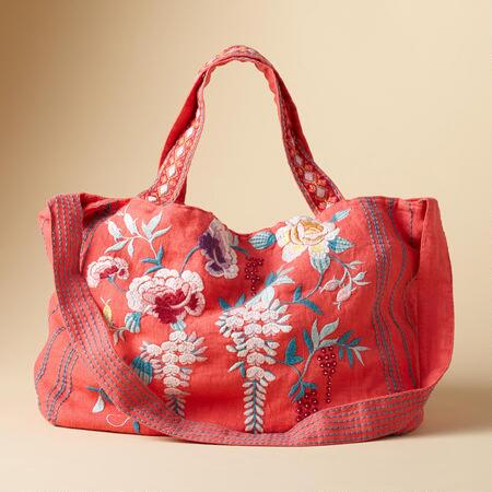 MIA EMBROIDERED TOTE
