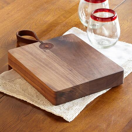 BLACK WALNUT CUTTING BOARD/THICK