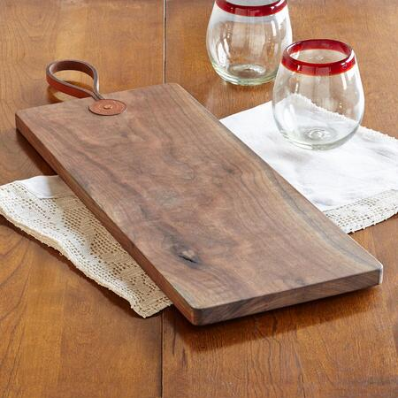 BLACK WALNUT CUTTING BOARD/SLENDER