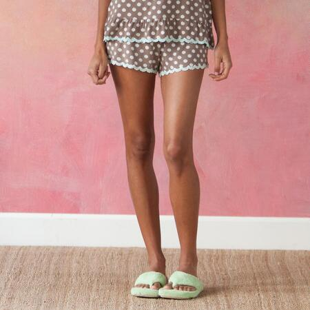DAISIES DO TELL SLEEP SHORTS