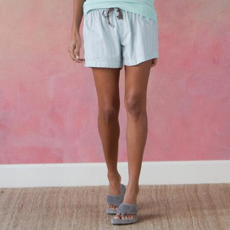 FRESHMINT STRIPE SLEEP SHORTS