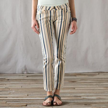 BEACH STRIPE JEANS