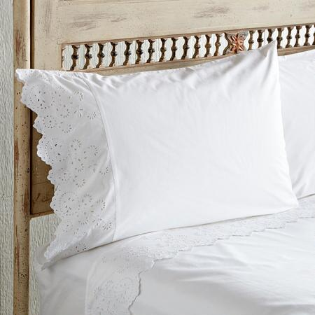 ELYSIAN EYELET PILLOWCASES S/2