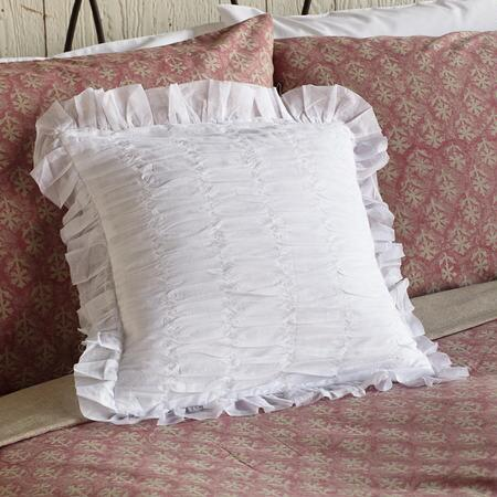 RUCHED & RUFFLED PILLOW (FG)