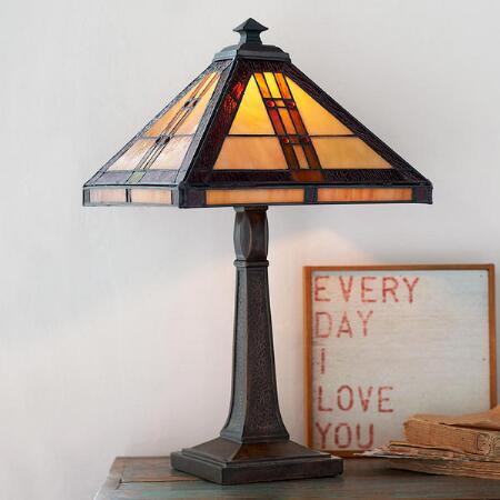 AMBERTOWN LAMP