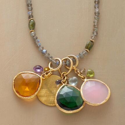 PRECIOUS QUARTET NECKLACE