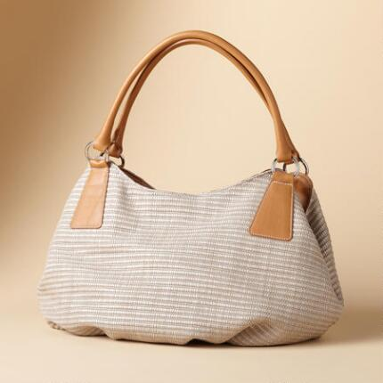 GENTLY TEXTURED SATCHEL