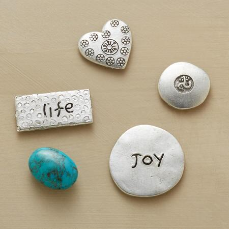 TOKENS OF HAPPINESS, SET OF 5