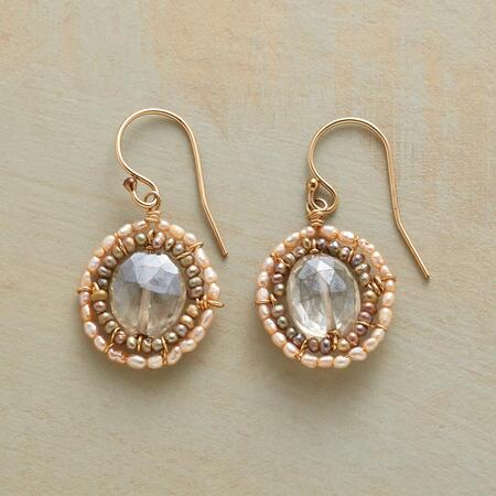 NOUVEAU CAMEO EARRINGS