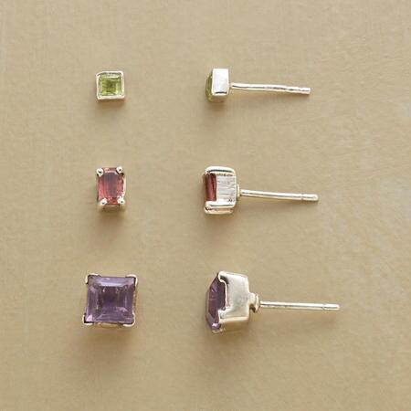 THREE BY THREE EARRINGS, SET OF 3
