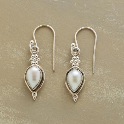 Our exclusive pearl pear earrings are an utterly timeless pair, adding elegance to any look.