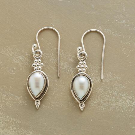 PEARL PEAR EARRINGS