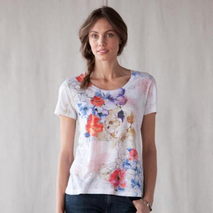 FLOWER SPLASH TEE