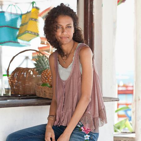 BOLINAS DRAPED TANK