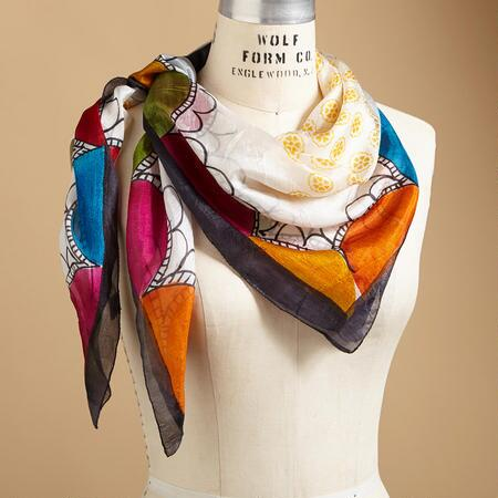 GLOBAL SUNRISE SCARF