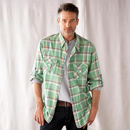 GREEN VALLEY PLAID SHIRT