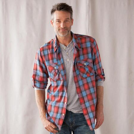 RED RIVER PLAID SHIRT