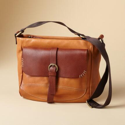 Ours is the kind of leather satchel bag that you can take with you absolutely anywhere.