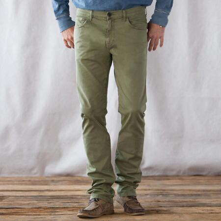 PAIGE CLASSIC CHINOS IN COLOR
