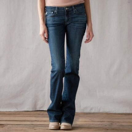 A G ANGEL BOOTCUT JEANS