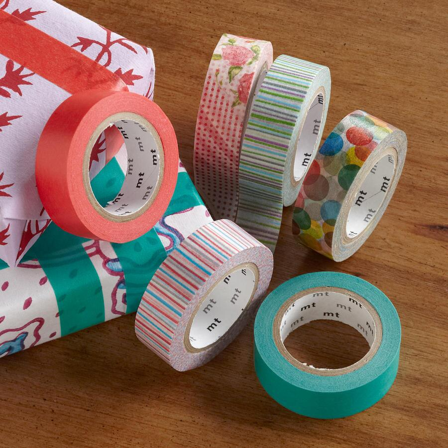 SPRING JAPANESE RICE PAPER TAPES, SET OF 6