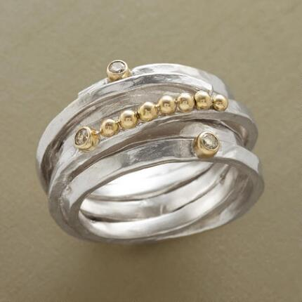 Consummately wearable yet unique, this gemstone coil ring will be among your favorites.
