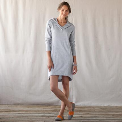 EASY HOODIE DRESS