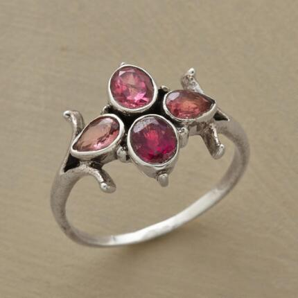 BRACKETED PINK RING