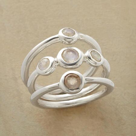 THROUGH THE MOON RING SET S/3