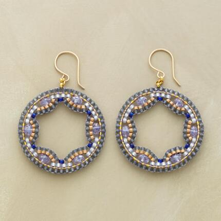 MIDNIGHT LACE EARRINGS