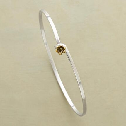 GOLD POPPY BANGLE