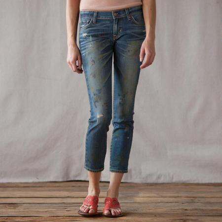 TEXTILE ELIZABETH & JAMES OZZY PAINTER JEANS