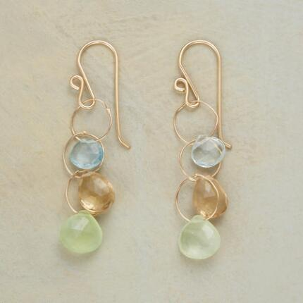 HEAVENLY HOOPS EARRINGS