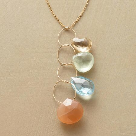HEAVENLY HOOPS NECKLACE