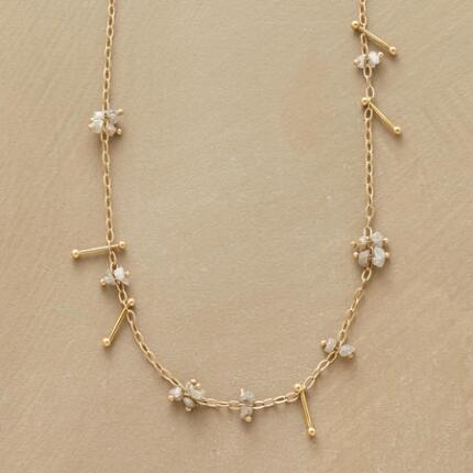 DIAMOND PINS NECKLACE