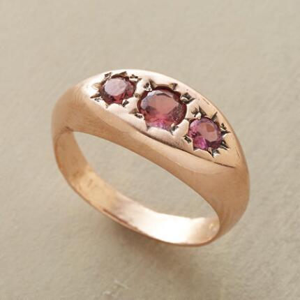 PINK STARBURST RING