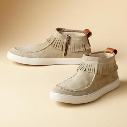 ON THE FRINGE SNEAKERS