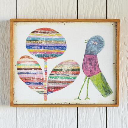SWEET BIRD FRAMED PRINT