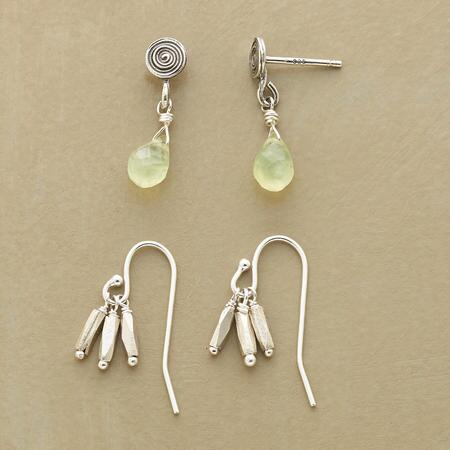 EVERY OTHER EARRING SET, SET OF 2