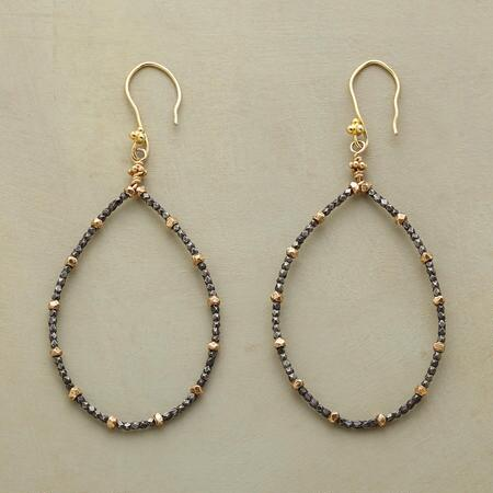 STRENGTH & GRACE TEARDROP EARRINGS
