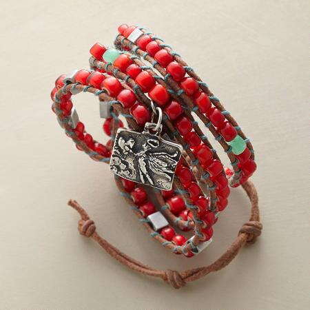 GUARDIAN OF LOVE 3 WRAP BRACELET